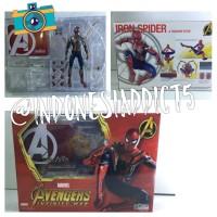 Action Figure Spiderman Homecoming Spider verse Full Artikulasi Marvel