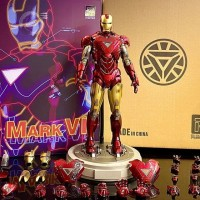 Playtoys Ironman Mark VI 6 1/6 diecast action figure bukan hot toys