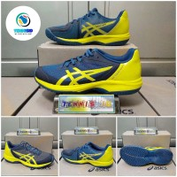Sepatu Tenis ASICS GEL - COURT SPEED - Blue/Yellow