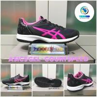 Sepatu Tenis ASICS GEL - COURT SPEED - Black/Pinkk