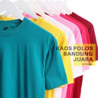 kaos polos oblong pendek soft cotton combed 30s