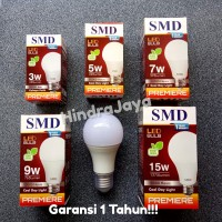 Lampu Led Bulb 15W / 15 Watt SMD Premiere Garansi 1 Tahun