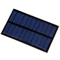 Mini Solar Cell Panel Surya PV Pembangkit Tenaga Matahari 12V 125ma