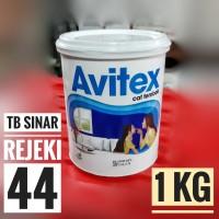 AVITEX Kiloan 1 KG (SUPER WHITE) Cat Tembok interior Plafon Dinding