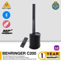 Speaker Aktif Portable Sound System Bluetooth USB Mp3 Behringer C 200