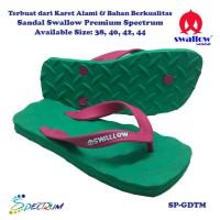 Sandal Swallow Premium Spectrum Pria GreenDark – Tali Merah