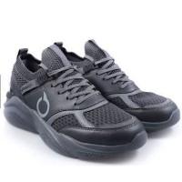 Sepatu Running Ortuseight Santana - Heather Grey Black