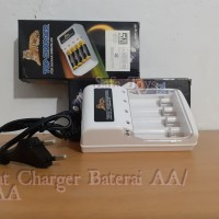 Alat Charger 4slot AA/AAA Top Charger