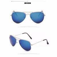 Tiaria WYM3026-GB Unisex Sunglasses Metal Frame Aviator Kacamata
