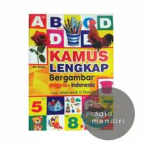 Kamus Bahasa Inggris Indonesia Lengkap Bergambar Full Color