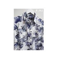 Kemeja Casual Floral Lengan Pendek Pria / Wanita - Angulata