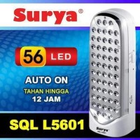 SURYA SQL L5601 Frosted Lampu Led Emergency Darurat Rechargeable