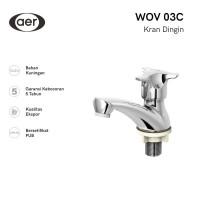 AER Kran Wastafel Kuningan / Brass Basin Faucet WOV 03C