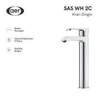 AER Kran Wastafel Air Dingin - Keran Kuningan / Mixer Faucet SAS WH2C