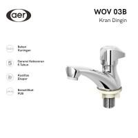 AER Kran Wastafel Kuningan / Brass Basin Faucet WOV 03B