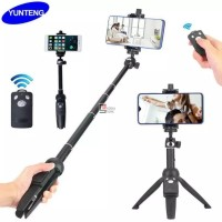 Tongsis Yunteng YT-9928 3in1 Tripod Selfie Stick with Bluetooth Remote