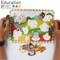 Puzzle Tempel / Mainan Edukasi / Puzzle Mengasah Kecerdasan Anak