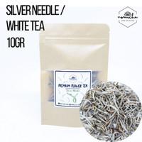 Silver Needle Tea / White Tea / Teh Herbal (Mini Size) 10gr
