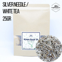 Silver Needle Tea / White Tea / Teh Herbal (Reguler Size) 25gr