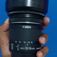 Lensa Wide Canon 10-18mm STM