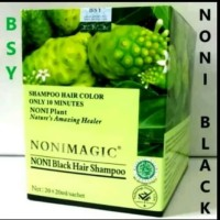 SHAMPO BSY NONI MAGIC CARE HAIR 1 BOX ISI 20 SACHET ORIGINAL