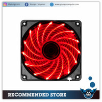 Fan Case 12cm LED 15 Titik Merah