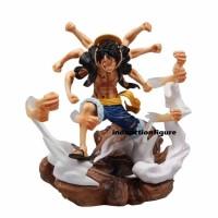 Action figure One Piece Monkey D. Luffy Gatling gun Gear 2 2nd POP XXL