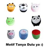 Sofa Tiup Balon Mini Anak Kursi Pompa Angin Karakter Motif Hello Kitty