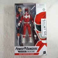 Lightning Collection Mighty Morphin Power Rangers Red Ranger Hasbro
