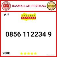 Nomor Cantik IM3 11 Digit Urut 4 angka 1234 0856 112234 9 yL01