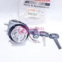 kunci stop kontak set motor mio j paket depan belakang jok