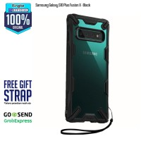 Case Samsung Galaxy S10+ S10 Plus FUSION X Original RINGKE - Black