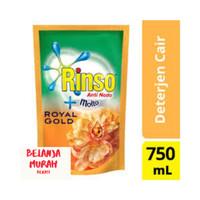 Rinso Cair Deterjen Anti Noda 800ml +Molto Royal Gold Detergent (GOLD)