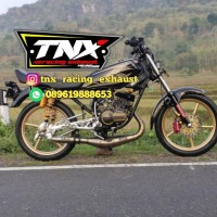 Knalpot Rx King Telo 3v3 Stainless TNX Racing Product not creampie