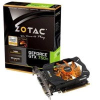 New Sale Vga Zotac Geforce Gtx 750 Ti 1 Gb 128 Bit Ddr5 Termurah