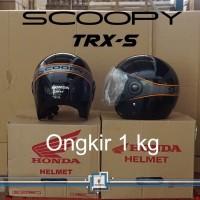 Helm Honda SCOOPY / TRX-S TRXS TRX S ORI & SNI Half Face RETRO - SALE
