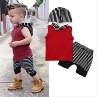 baju setelan bayi laki-laki 6 7 8-12bulan asli import - pakaian anak
