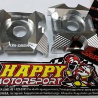 Spaner setelan rantai motor Ninja 250 warna silver merk nassert beet