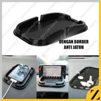 Sticky Pad Car Anti Slip Dashboard -Phone Holder-Tempat HP Koin Mobil