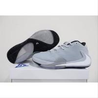 Sepatu Basket Sneakers Pria Wanita Olahraga Nike Freak 1 Abu tool a