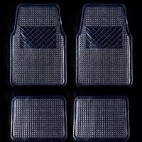 Karpet Mobil Transparan Bening Tipis UNIVERSAL MURAH 1 Set 4 pcs