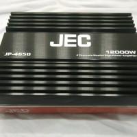 Car Audio Mobil High Power Amplifier 4 Channel JEC JP-4650 Termurah