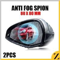 ANTI FOG Kaca Film Pelindung Spion Mobil Anti Embun Univ 80 x 80