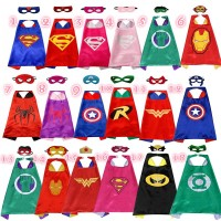 Limited Superhero Spiderman Jubah dan Topeng Superman Batman Hero