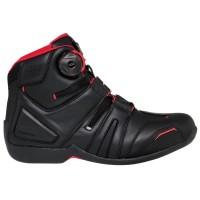 RS TAICHI RSS006 DRYMASTER Original Sepatu Touring Motor- Black Red