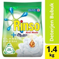 Rinso Bubuk Anti Noda Classic Fresh 1,4 Kg / Rinso Molto Bubuk 1,4kg