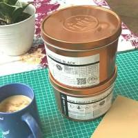 Tinta Cetak Grafis warna Hitam - 1 kg