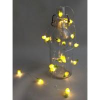 Lampu tumblr hias LED dekorasi nanas kawat fairy 20 led kado interior