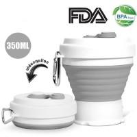 ACEBON Gelas Cangkir Lipat Silikon Foldable Travel Mug 350ml - GY800