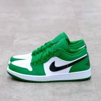 Nike Air Jordan 1 Low Pine Green 100% Authentic